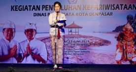 Pemkot Denpasar Laksanakan Penyuluhan Dengan Media Seni Bondres Inovatif