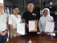 IKTL Waibalun Teken MoU dengan Wufeng University Taiwan