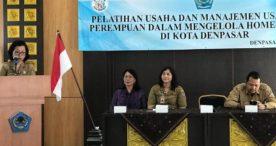 Hadapi Persaingan Dalam Perdagangan-DP3AP2KB Latih Perempuan Manajemen Usaha Rumah Tangga