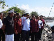 Menteri Perhubungan Tinjau RencanaProyek Dermaga Sanur