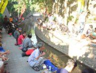 Jaya Negara Buka Lomba Mancing Air Deras ST. Yowana Canthi Banjar Oongan