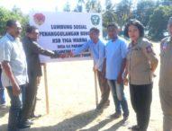 Dinas Sosial NTT Bentuk Kampung Siaga Bencana di Desa Ile Padung