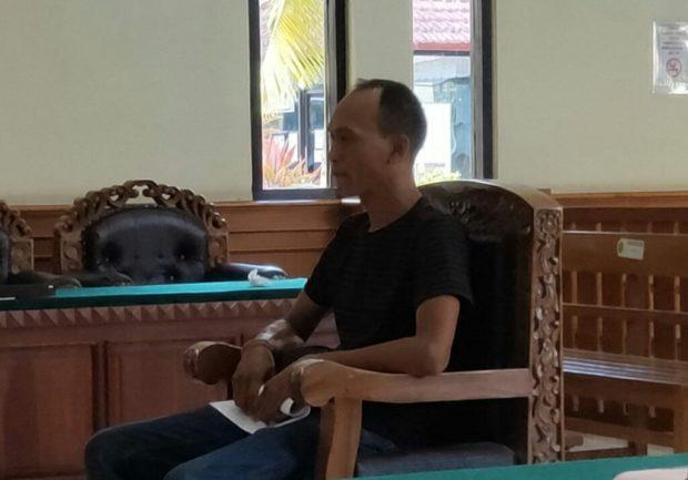 Pelihara Satwa Dilindungi,  Andika Dituntut 6 Bulan Penjara