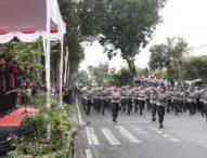 Meriahkan HUT Bhayangkara ke-73- Polwan Polda Bali Tampil Luar Biasa