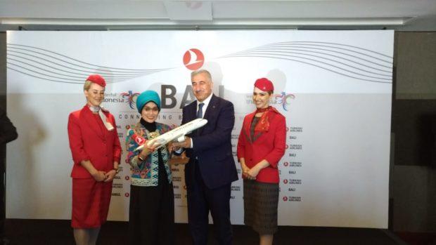Dalam Seminggu, Turkish Airlines 3 Kali Terbang Langsung ke Bali
