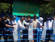 Sambut HBA ke-59, Kejaksaan Gelar Penanaman Pohon dan Penebaran Benih Ikan di Tukad Bindu