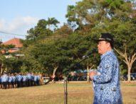 Apel Disiplin Pemkot Denpasar; Tekankan Sinergitas Program OPD, Tingkatkan SDM