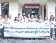 Polres Klungkung Terima CSR BRI Rp 150 Juta Untuk Finishing Bangunan Poliklinik
