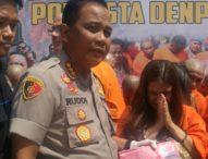 Wanita Kurir Narkoba Diciduk Polresta Setelah Diintai Sebulan