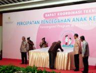 Bupati Anton Hadjon Tandatangani Komitmen Bersama Pencegahan Stunting Tingkat Nasional di Jakarta