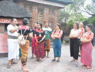 Mahasiswa Dari 20 Negara Kunjungi Kawasan Heritage Kota Denpasar