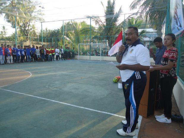 Olahraga Arena Asah Bakat – Agus Ruing Buka Turnamen Futsal Permesa Cup
