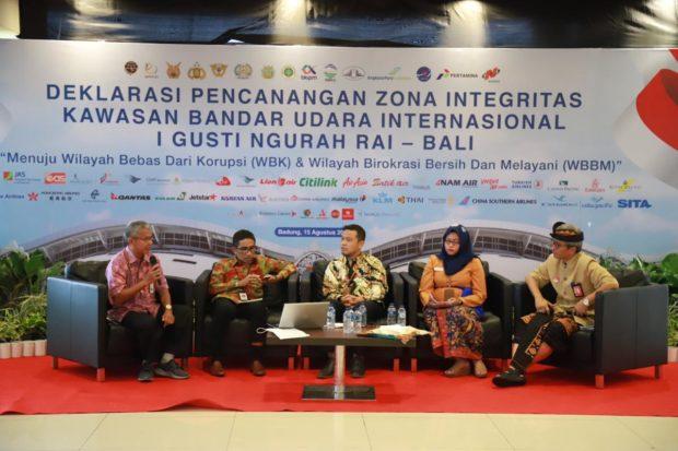 Komunitas Bandar Udara Deklarasikan Pembangunan Zona Integritas Kawasan Bebas Korupsi