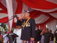 Rai Mantra Pimpin Apel Peringatan Hut Kemerdekaan RI ke-74 di Kota Denpasar