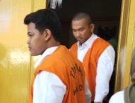 Rampas Pistol Polisi, Dua Pemuda Dituntut 1 Tahun dan 6 Bulan