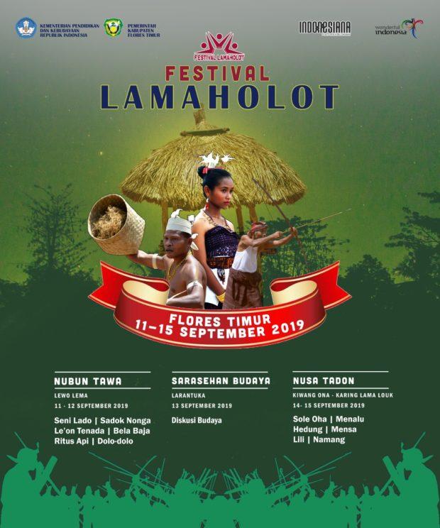 Dari Lewo Lema ke Nusa Tadon, Membaca Kembali Kelamaholotan di Festival Lamaholot Flotim