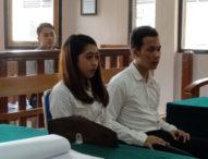Racik dan Edarkan Tembakau Gorila, Sepasang Kekasih Dituntut 5 Tahun Penjara