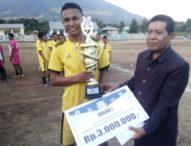 Terong FC Juara Liga Desa Nusantara, Wakili Flotim ke Tingkat NTT