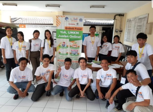 Grebeg Pasar UMKM Go Online Hadir di Kota Denpasar, Ajak Pedagang Siap Berjualan Online