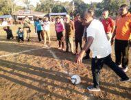 Wabup Agus Boli Buka Turnamen Pamri Cup di Desa Riangduli