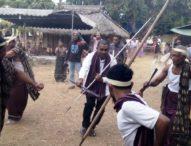 Wabup Agus Boli Hadiri  Ceremoni 'Geleten Pelumut' Gong Gendang di Desa Lamabunga