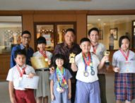 Tujuh Siswa Denpasar yang Lolos Olimpiade Internasional Pamitan ke Walikota