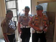 Tim Gabungan dari Polda Bali Sidak  Ruang Tahanan Polres Badung