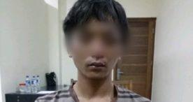 Gagal Curi Handphone Pedagang Bakso Keliling Dijuk Polisi