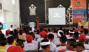 Dandim Badung Bekali Wasbang Mahasiswa Baru IKIP PGRI Denpasar