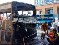 Bus Terbakar di Bandara Ngurah Rai, Calon Penumpang Sempat Panik