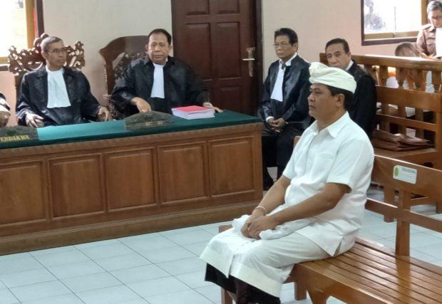 Mantan Wagub Sudikerta Jalani Sidang Perdana Kasus Penipuan