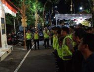 Polres Badung Gelar Patroli Sekat di Daerah Wisata Petitenget