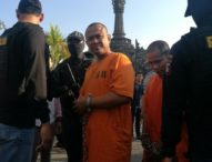 Polresta Denpasar Kembali Pajang Wajah Pengedar Narkoba di Lapangan Renon