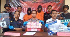 Sat Reskrim Polres Jembrana Realese Pengungkapan Kasus Curat