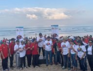Puluhan Personil Personil Badung Ikut Aksi World Cleanup Day 2019
