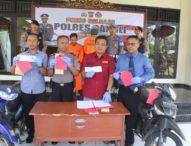 Tim Gabungan Polres dan Polsek Bangli Ungkap Dua Kasus Curanmor