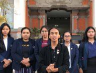 Presiden BEM IHDN Denpasar Ingatkan Sampaikan Aspirasi Sesuai Aturan