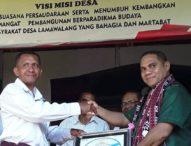 Intervensi Dana Desa untuk Sukseskan STBM, Bupati Flotim Puji Kades Lamawalang
