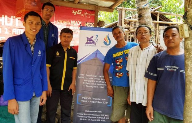 Tim Pengabdian STIKOM Bali Adakan Pelatihan Pengolahan Limbah Biogas Jadi Pupuk Organik
