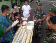Anggota Kodim 1610/Klungkung Jalani Test Urine
