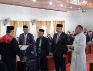Tiga Putra Terbaik Angkat Sumpah dan Janji Pimpinan DPRD Flotim