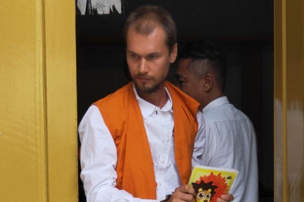 Sempat Kabur dari Polda Bali, Bule Rusia Dihukum 7 Tahun