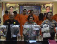 Dari Operasi Antik, Polres Badung Amankan 5 Pelaku Kasus Narkoba