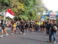 Run For Bali, Serka Dewa Gede Astawa Selesaikan Etape Pertama Sejauh 100 Kilometer