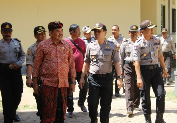 Wakil Bupati Klungkung Kunjungi Polsek Nusa Penida