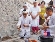 Jaya Negara Letakkan Batu Pertama Revitalisasi Pasar Anyarsari