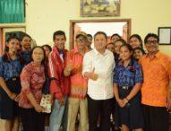 Reuni Agung SMP Negeri 1 Denpasar Dihadiri Rai Mantra