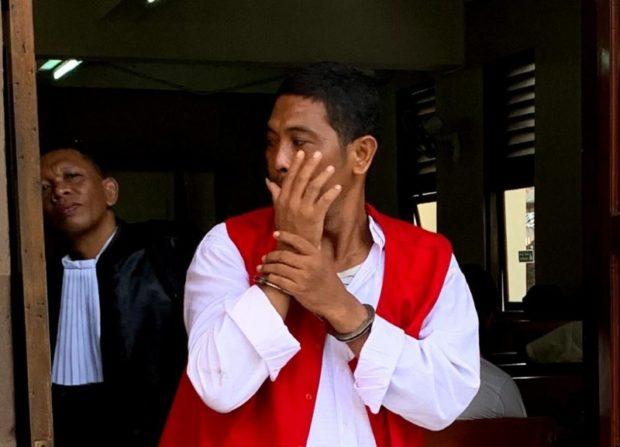 Ditangkap Usia Ambil Tempelan Sabu, Buruh Harian Lepas Dituntut 15 Tahun