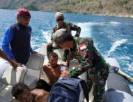 Diburu Tim Patroli  Laut Flotim, 6 Nelayan Ende Tinggalkan Kapal, Dua Berhasil Diringkus