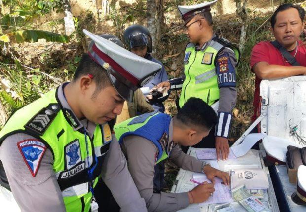 Selama Pelaksanaan Operasi Zebra Polres Bangli Tindak 920 Pelanggar